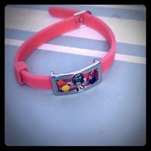 Miss M & M pink bracelet!